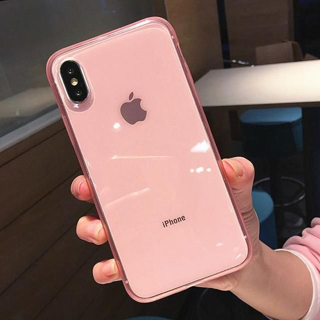 Uslion Clear Phone Case For Iphone 11 Pro Max 7 6 6s Plus Transparent Cases For Iphone X Xs Xr Xs Max Soft Tpu Protection Cover En 2020 Iphone Accessoires Iphone Portable Iphone