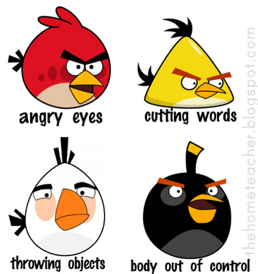Don't Be an Angry Bird -FHE{lesson on controlling emotions}