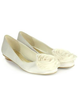 The Flat Bridal Shoes Id Wear