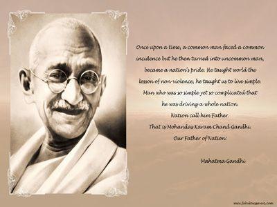 Download Free Mahatma Gandhi Desktop Hd Wallpapers Backgrounds