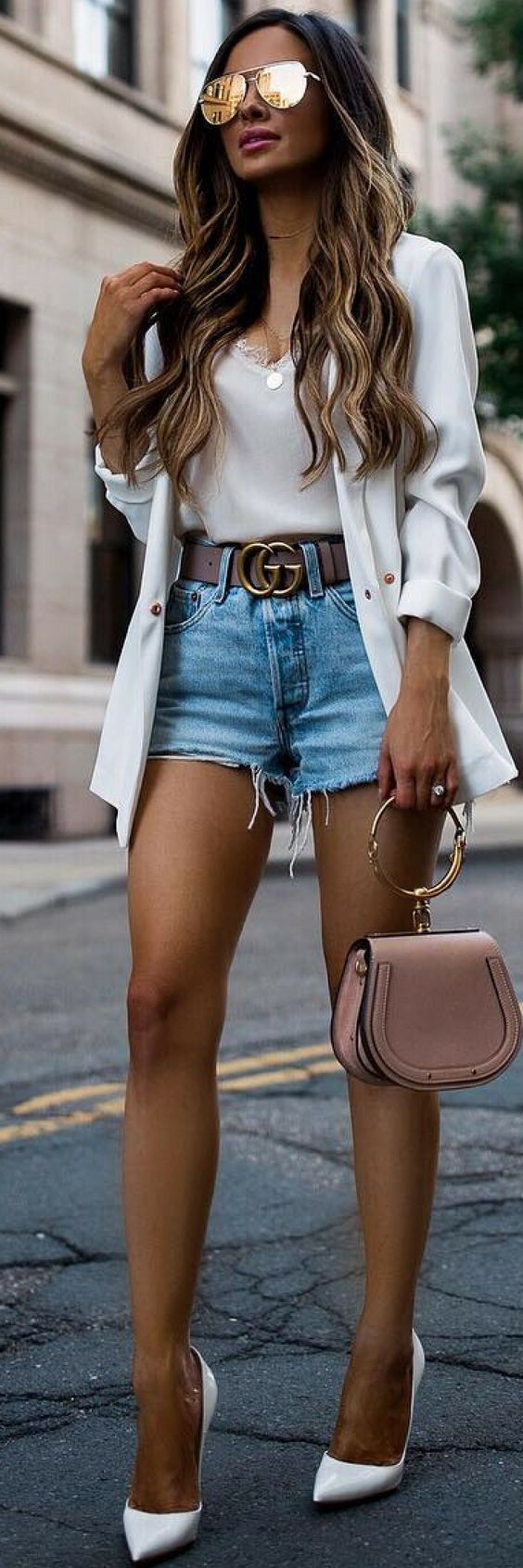 22 Casual Summer Outfits That Make You Look Fabulous  #casual #fabulous #outfits #summer #summeroutfits2019