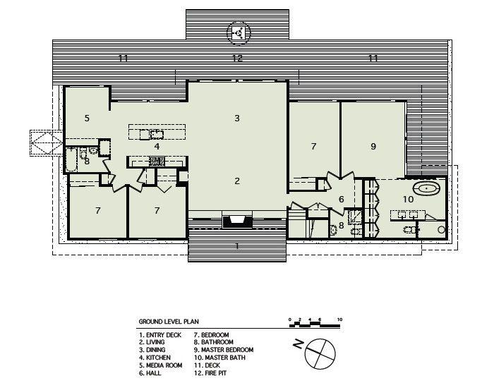 Long Island Rustic Modernist Beach House iDesignArch Interior