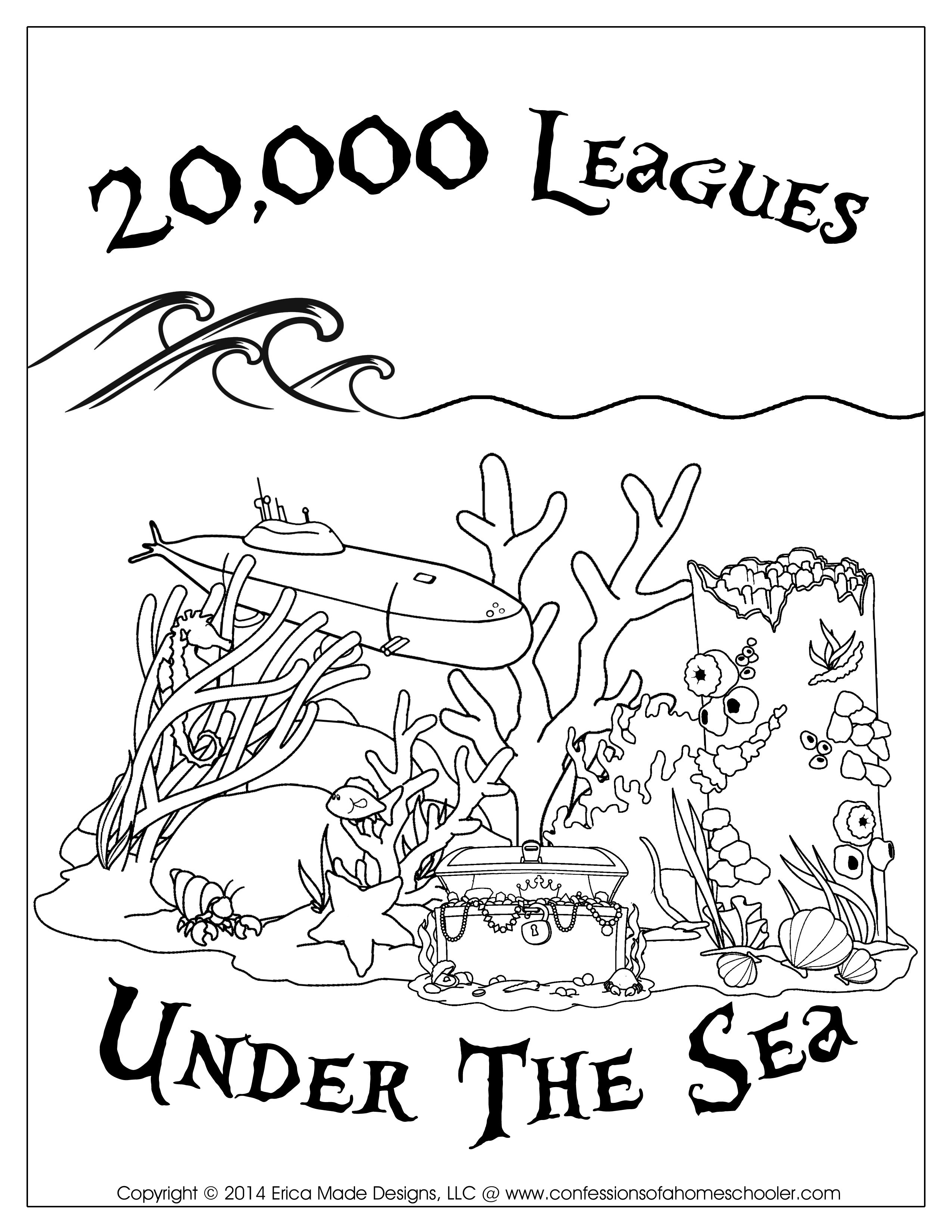 20,000 Leagues Under the Sea | Homeschool- General English ...