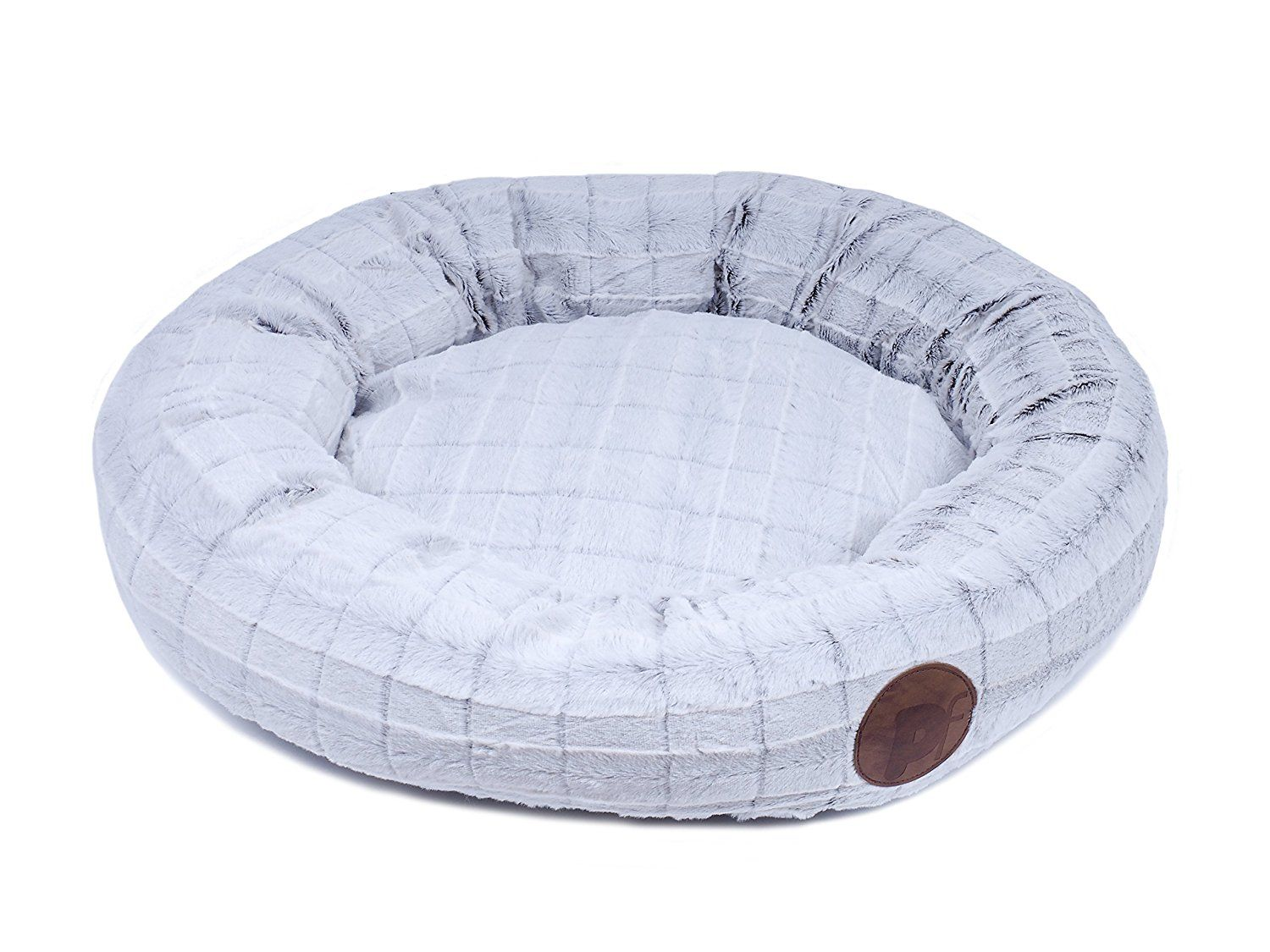 Petface Fluffy Cat Donut Bed Round * Read more info by