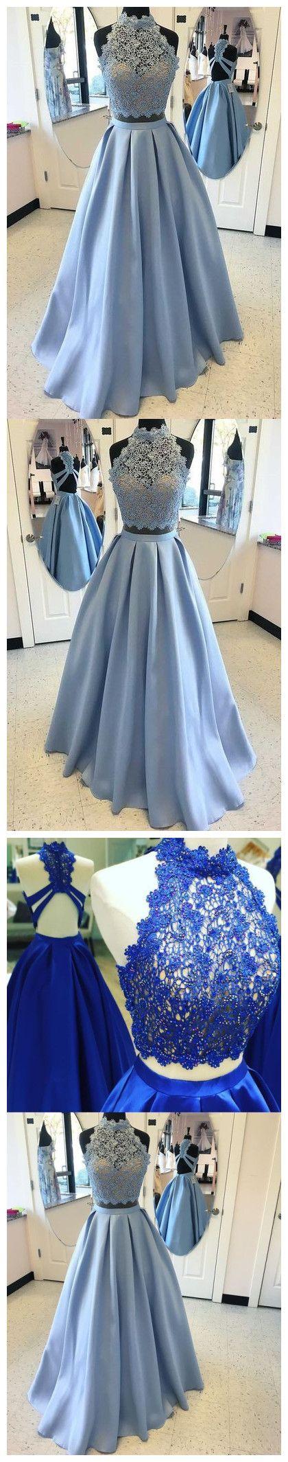 Prom dresseslight blue prom dressnew prom gown pieces prom