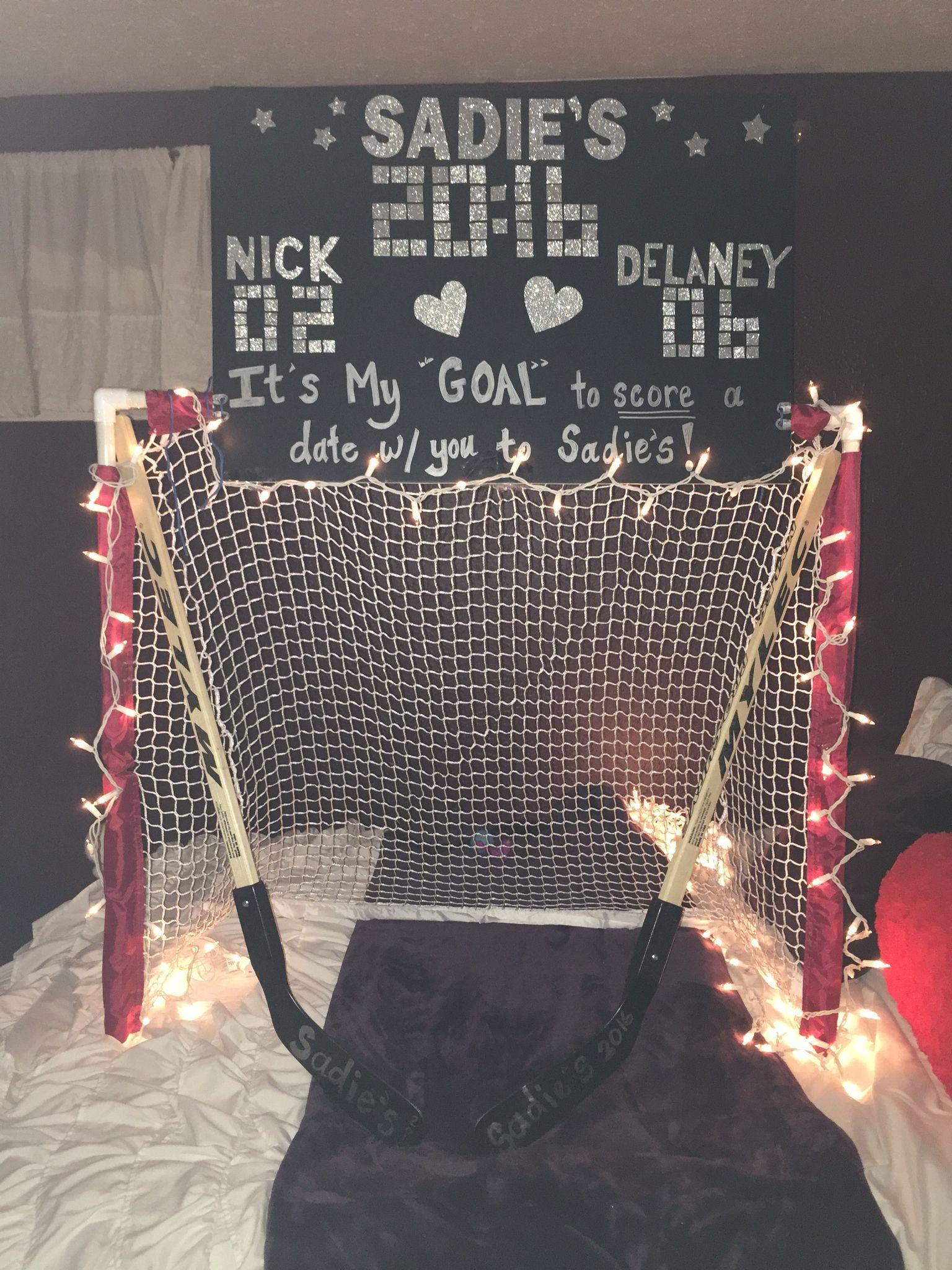 Sadies Ask Idea Hockey Theme
