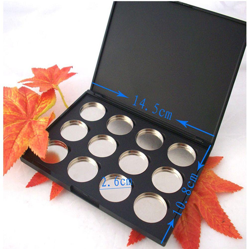 Makeup Empty 12pcs Aluminum Eyeshadow Lipstick