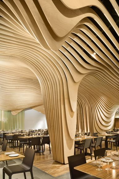 Design Bank Twist.Banq Is A Restaurant Located At The Base Of The Old Banking Hall Of
