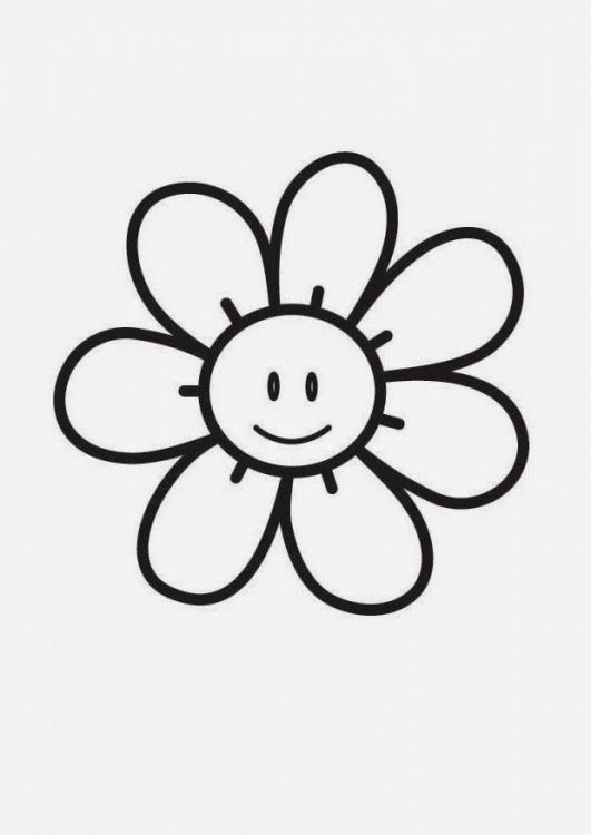 Dibujos de Flores para Colorear, parte 4 | a pintar | Pinterest | Kind