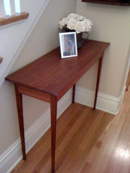 SHAKER HALL TABLE IN CHERRY: The Table That Started It All. Built In 1996 Shaker Hall G