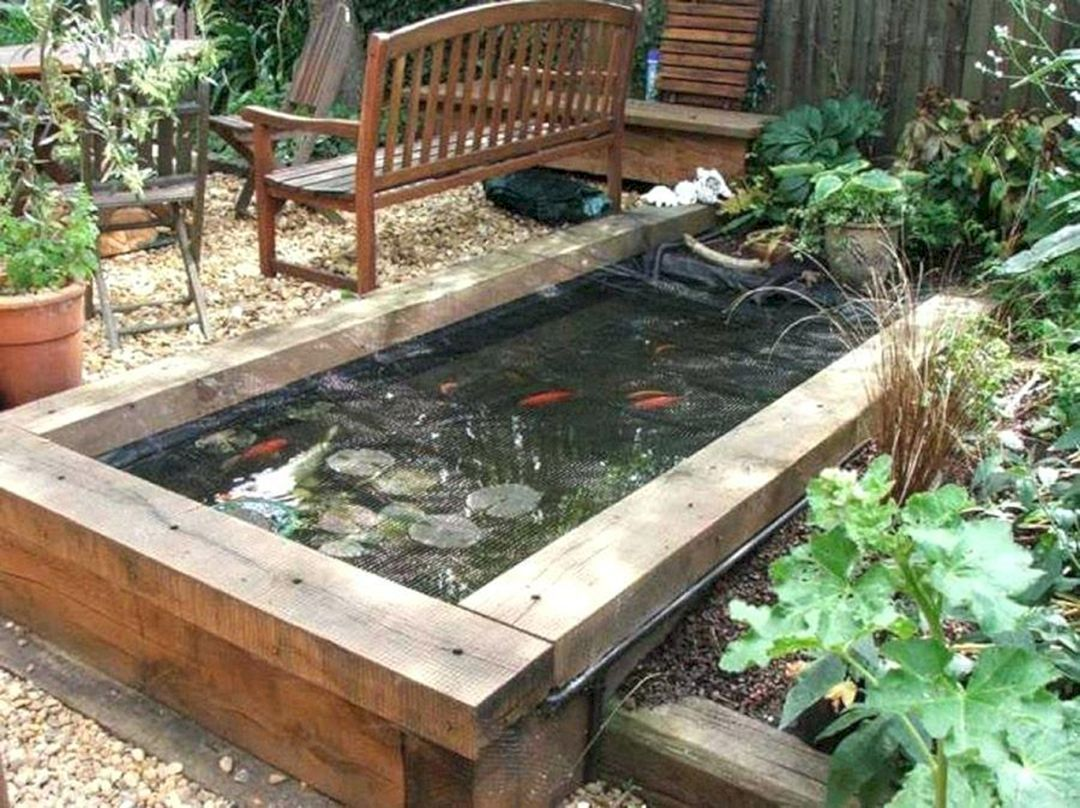 15 Wonderful Backyard Fish Pond Design For Increase Your Home Style Ideas Dexorate Ponds Backyard Garden Pond Design Pond Design