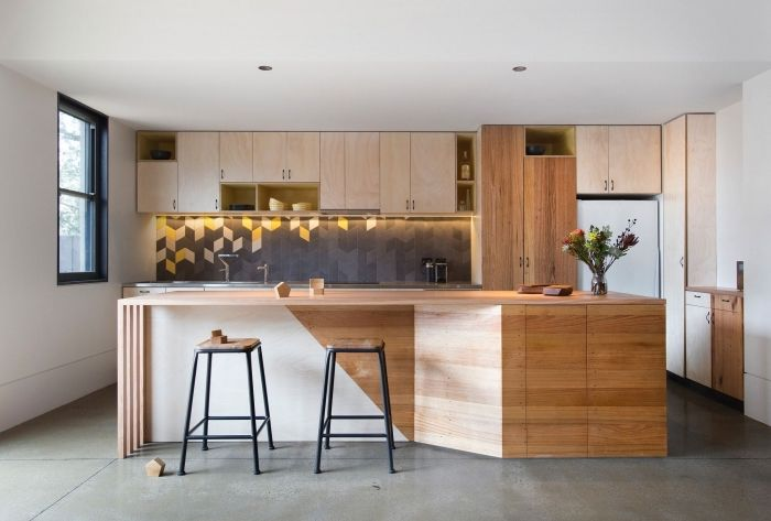 ▷ 1001 + variantes de la cuisine avec îlot central moderne et - Modele Cuisine Avec Ilot