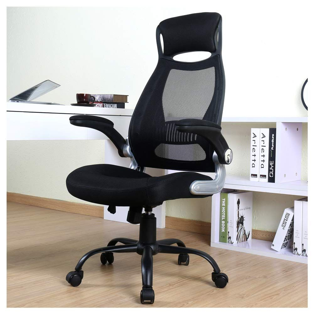 Berlman high back mesh office chair with adjustable