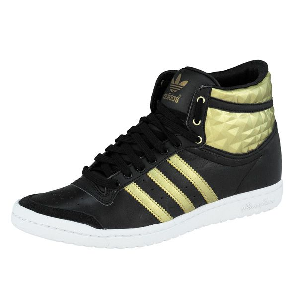 save off 82aa5 7e31c Adidas Top Ten Hi Sleek Up Women Shoes High Top Sneakers  eBay