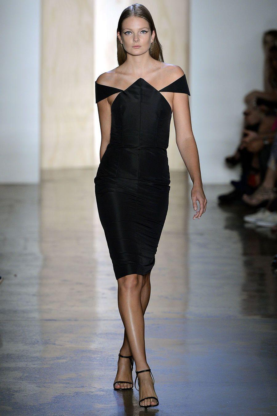 Cushnie et Ochs Spring 2013 Ready-to-Wear Fashion Show - Eniko Mihalik