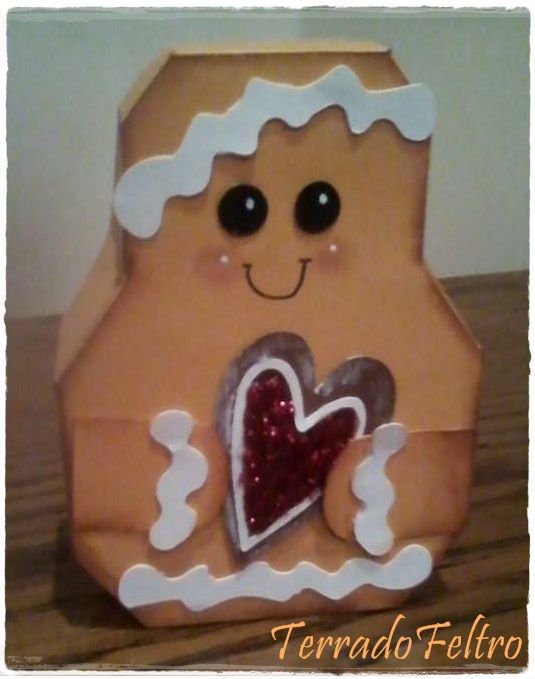 Caixa Gingerbreadman