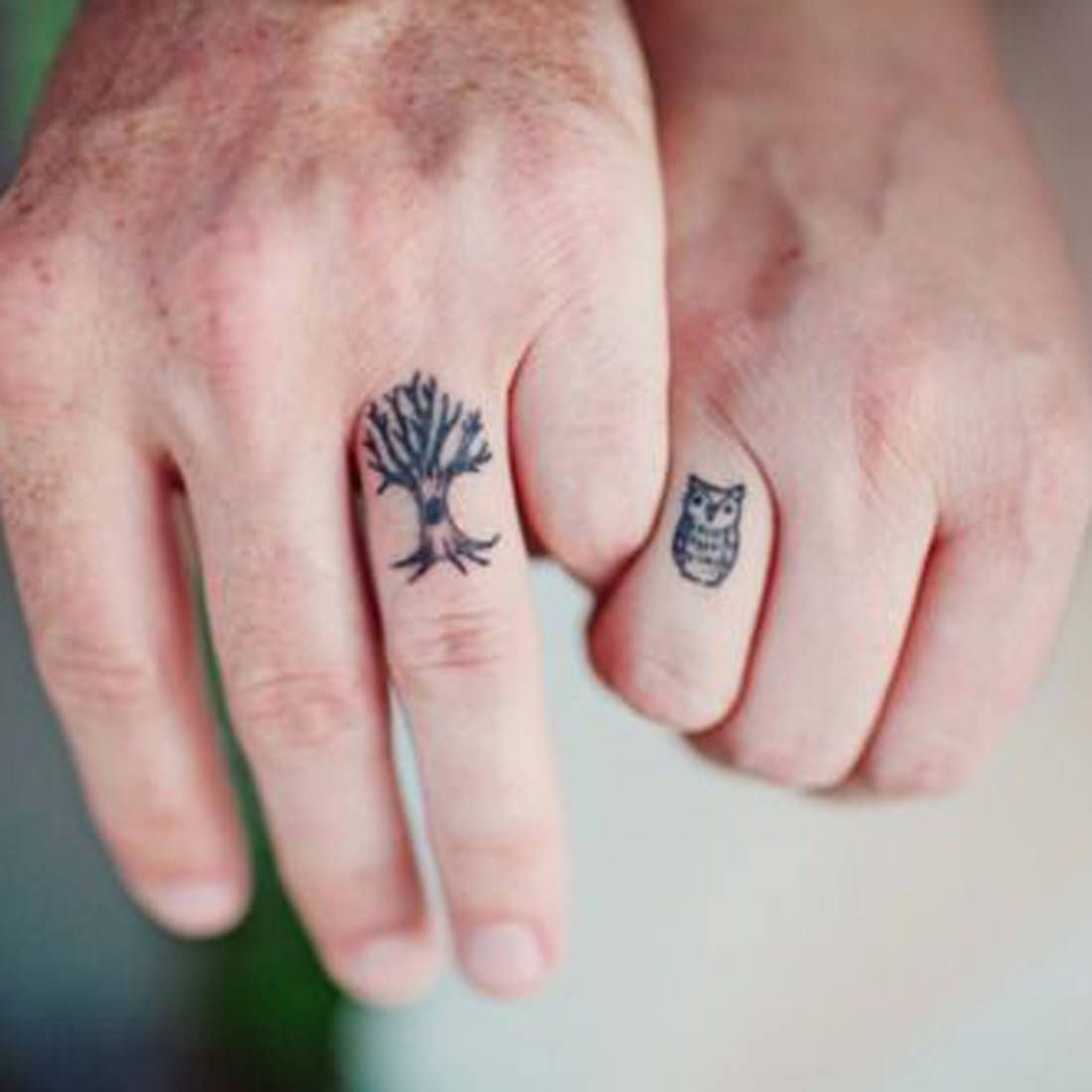 trouvé sur planete elea com tatouage couple discret   * tatatou