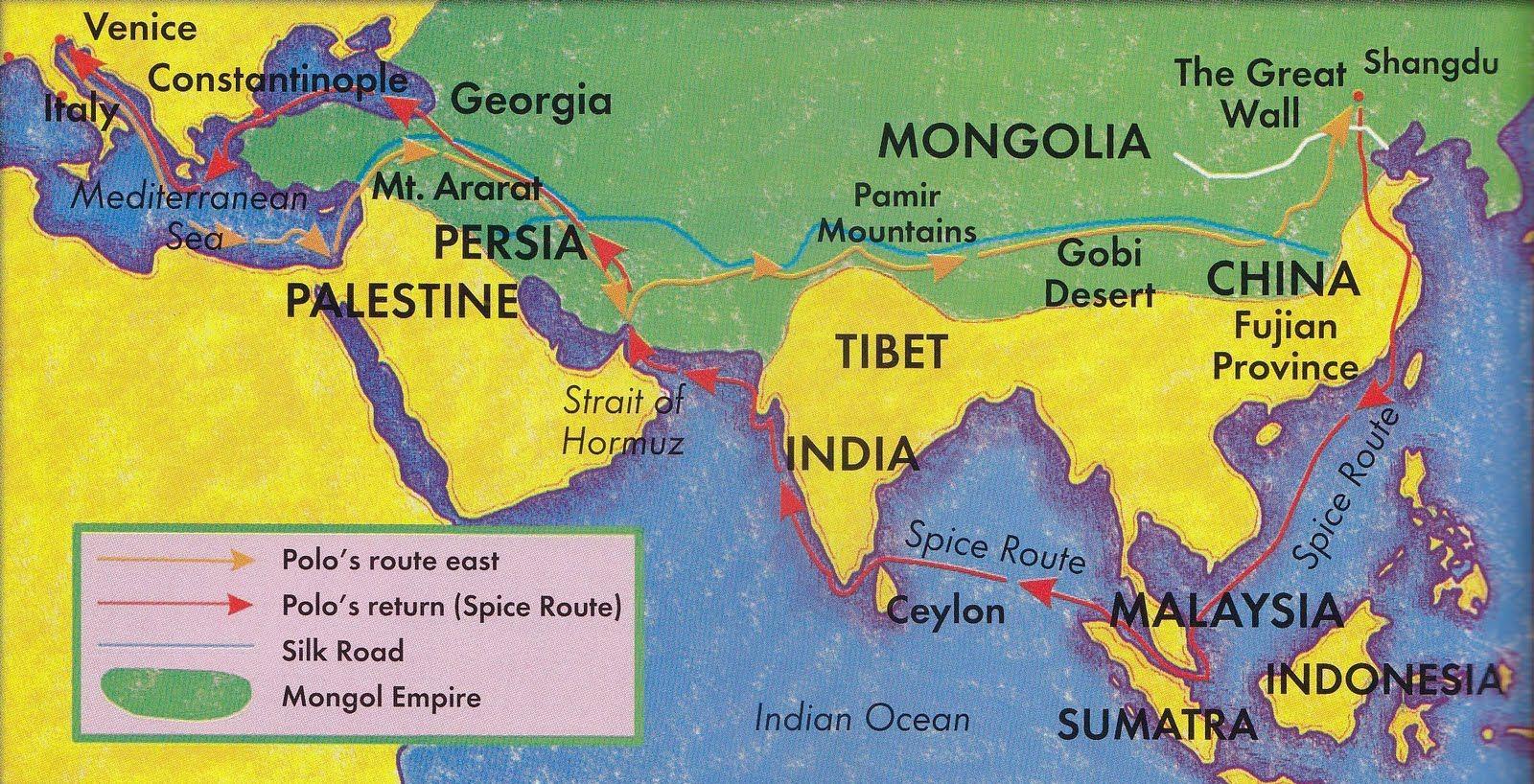 Marco Polo Map 818