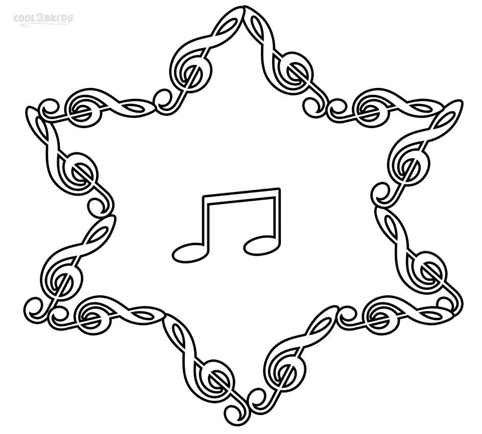 Printable Music Note Coloring Pages For Kids | Cool2bKids ...