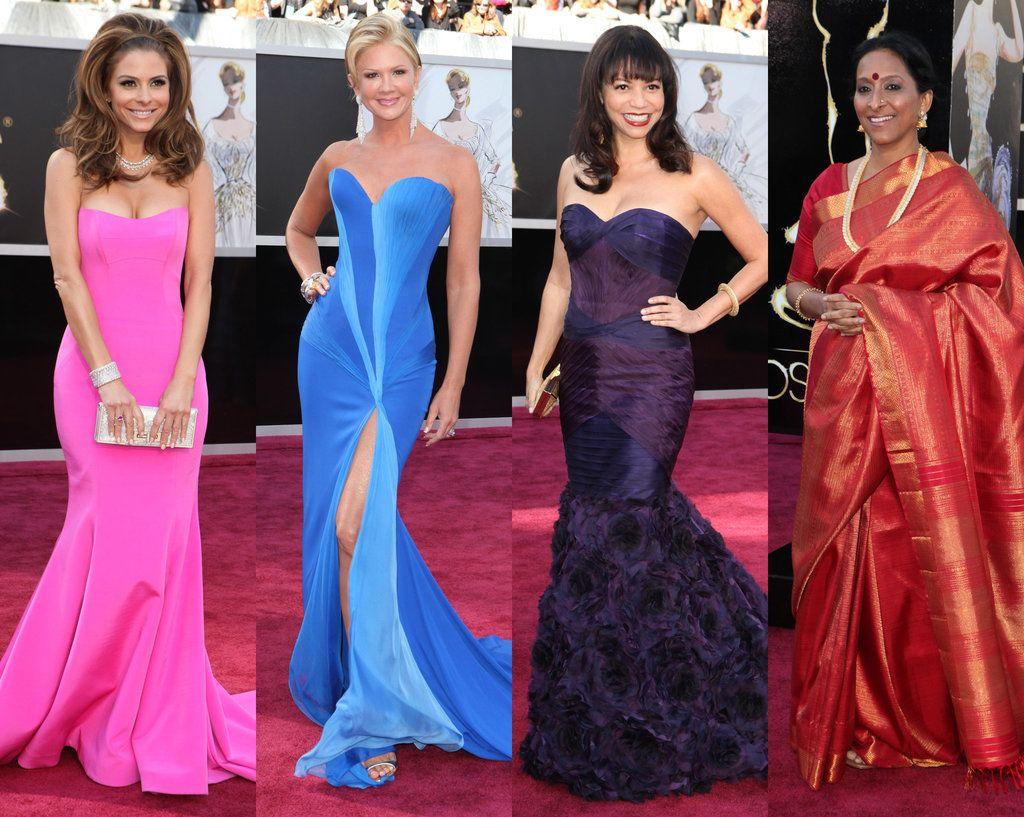 2013 Oscars Red Carpet Red Carpet Oscars Strapless Dress Formal Red Carpet