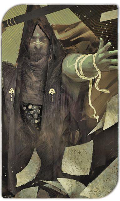 Dragon Age Inquisition Tarot.