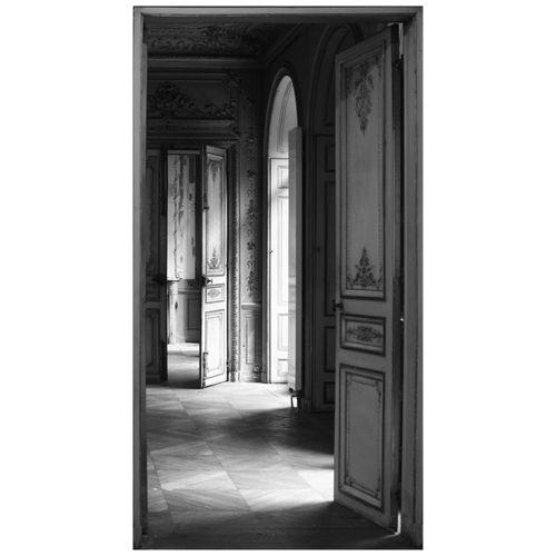 Repoussez vos murs sticker trompe l 39 oeil porte for Porte ouverte maison