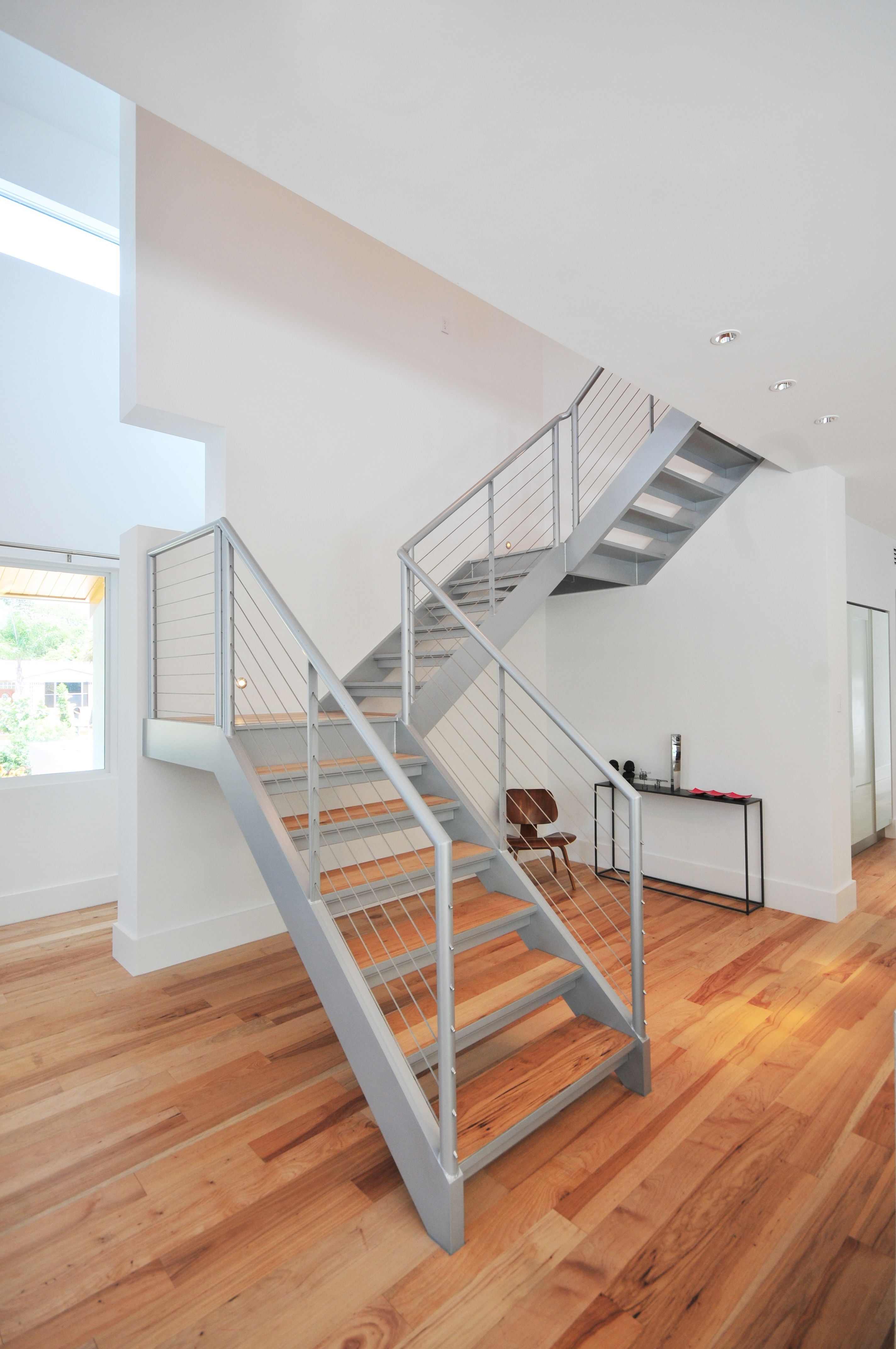 Aluminum Stairs U0026 Stainless Steel Cable Railing Fabricated And Installed By  Mulletu0027s Aluminum