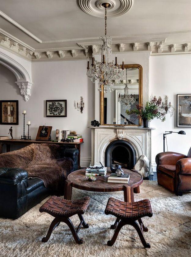 Wohnzimmer-Dekor-Ideen für Häuser mit Persönlichkeit Interior