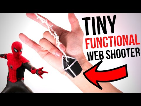 16 Functional Spider Man Far From Home Web Shooter Easy Build Youtube Spiderman Spiderman Web Easy Build