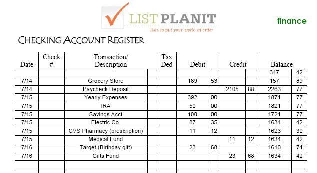 Budgeting For Yearly Expenses  ListplanitCom  ListplanitCom