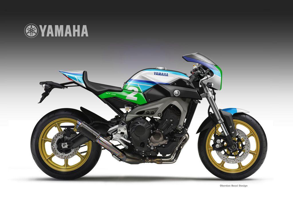 """Yamaha MT-09 im """"Faster Son"""" Style – Konzeptmotorräder von Oberdan Bezzi"""