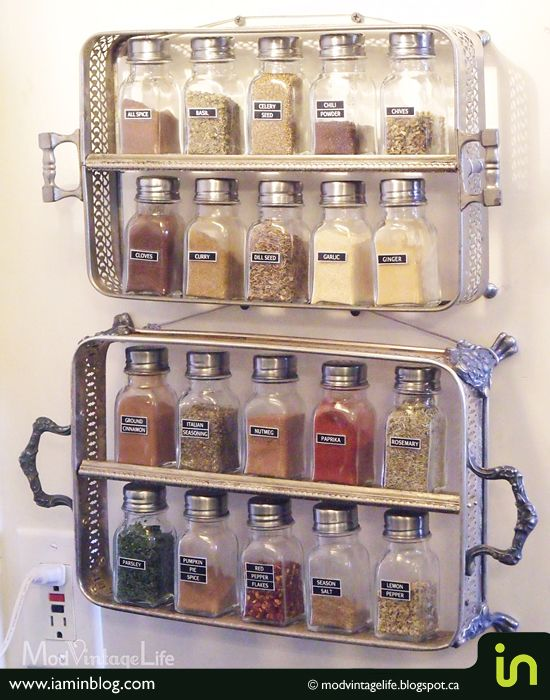 homemade storage solutions | Top 5 DIY spice storage solutions | I am in | Je suis in