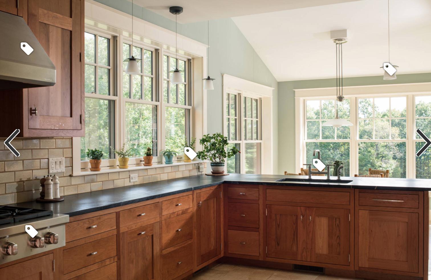 White Frames Wood Cabinetry Building Kitchen Cabinets Craftsman Style Kitchen Updated Kitchen