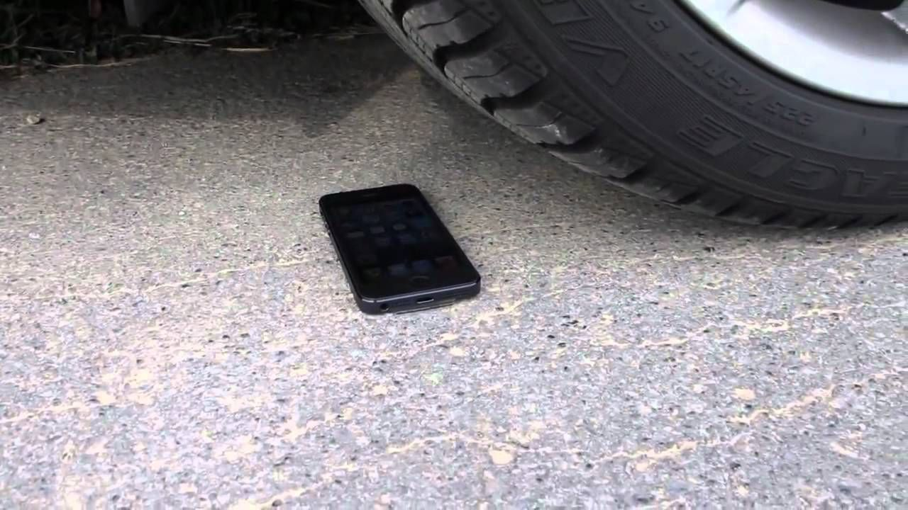 Has your smartphone or device been ran over and is now