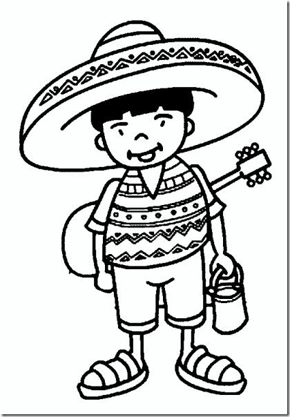 Mexican Coloring Page Coloring Pages Color Worksheets Coloring