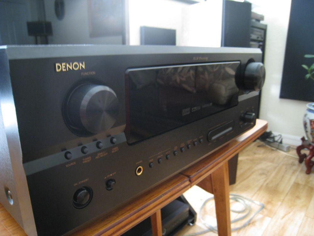Denon AVR 2805 7 1 Channel 135 Watt Receiver bundled with