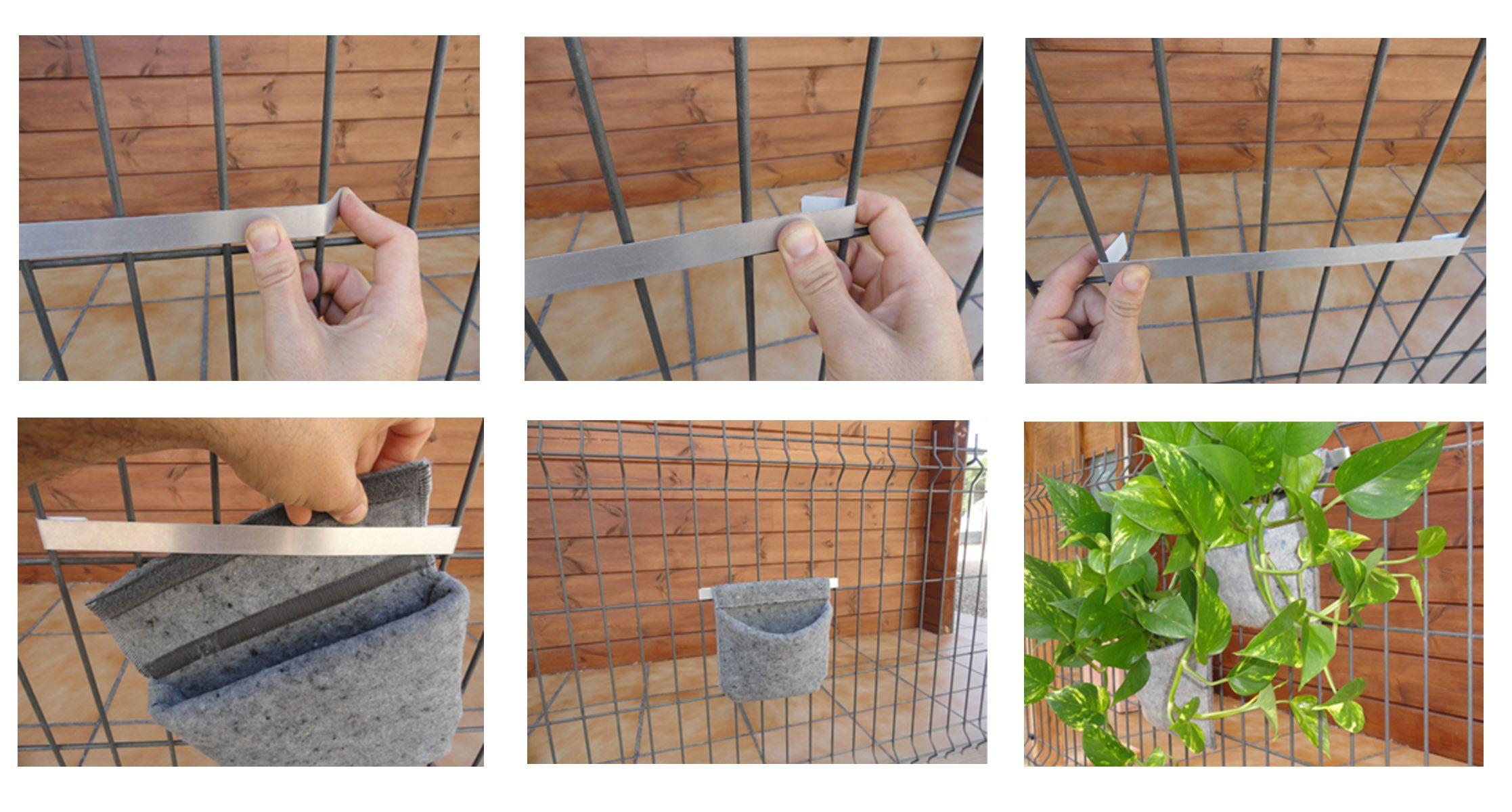 Pin de vertiflor en diy de huertos y jardines verticales - Macetas para jardin vertical ...