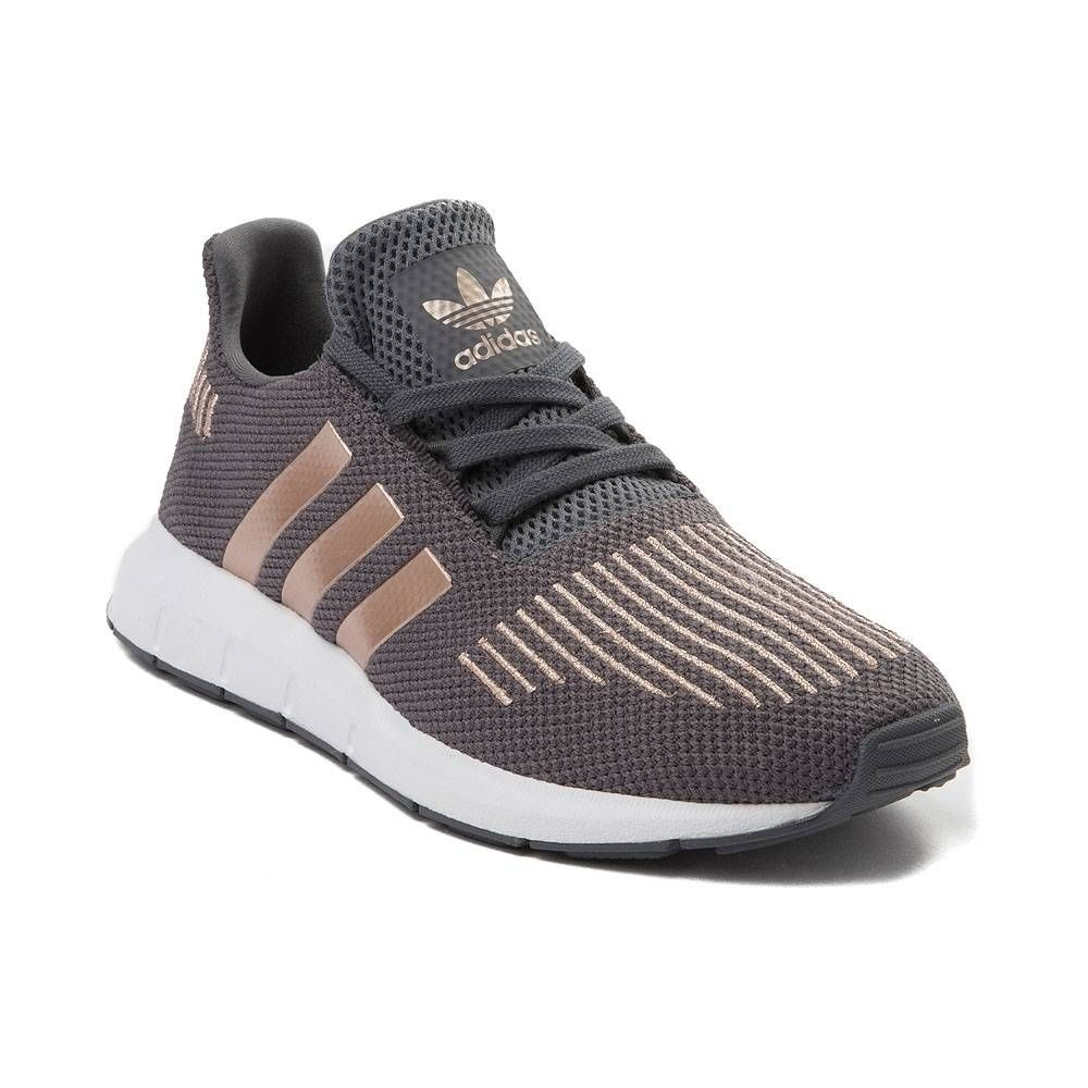 online store 85d66 1ab57 Youth adidas Swift Run Athletic Shoe - GrayCopper - 1436415