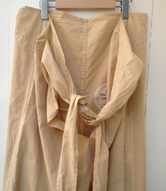 The Solar Garden COSMIC WONDER Light Source-AW13-Wrap pants(BEIGE) - POST PARTY DEPRESSION