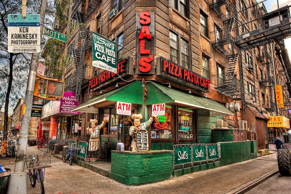 sal 39 s pizzeria restaurant was established in 1975 in new york city 39 s little italy by a. Black Bedroom Furniture Sets. Home Design Ideas