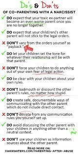Image result for co parenting with a narcissist  Image result for co parenting with a narcissist