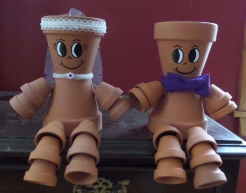 Bride-and-Groom-Terra-Cotta-Clay-Pot-People