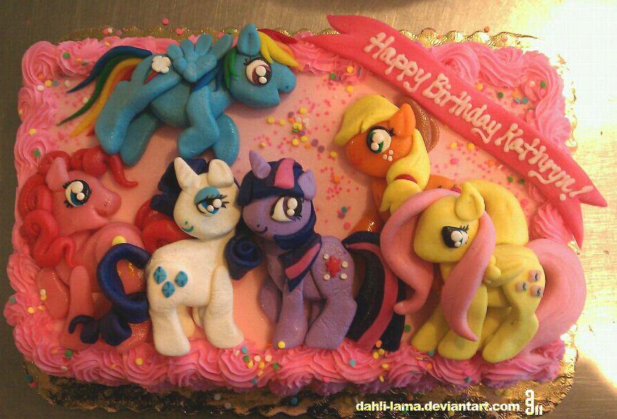 my little pony birthday cake asda