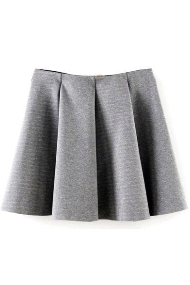 wide pleated skirt| $11.28  grunge otome kei gyaru punk hipster fachin skirt bottoms under20 under30 bh bella