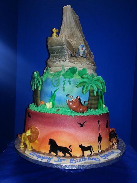 the lion king cake birthday party ideas Pinterest Lion king