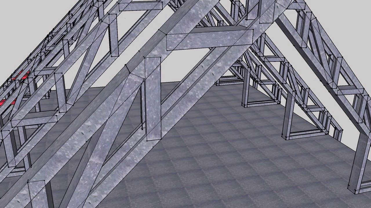 Amazing Parallel Chord Gable Truss YouTube in 2020