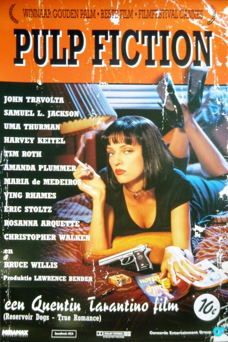 Mad listings for sale pulp fiction classic movie