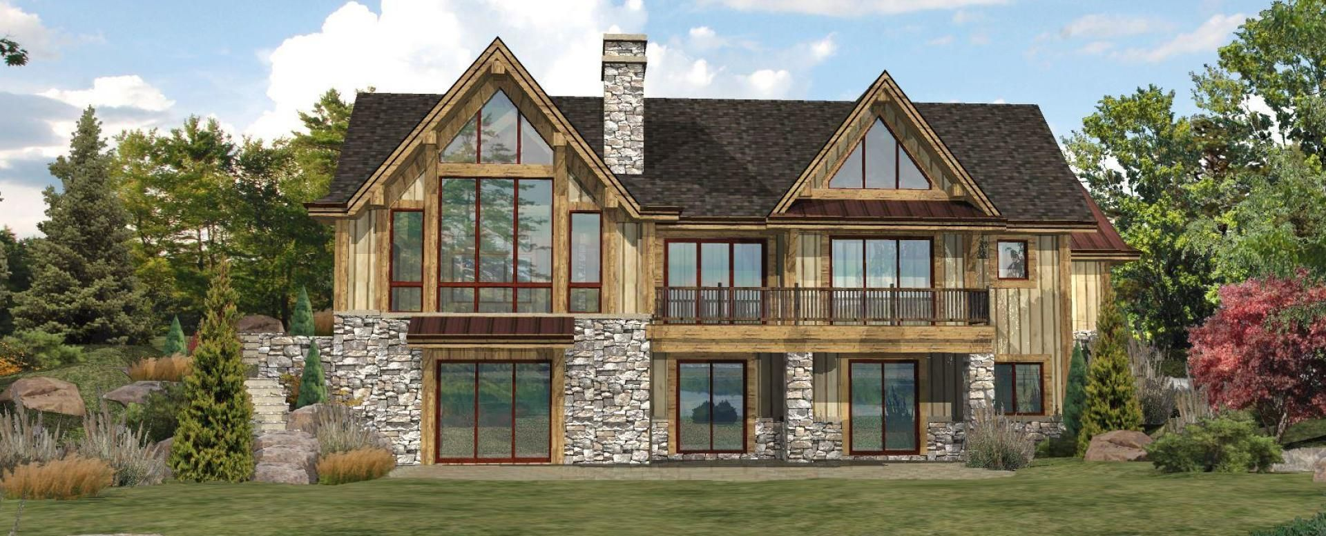 Pin By Mary Bishop Baldwin On Houses Lakefront Homes Lake House Plans Log Home Floor Plans