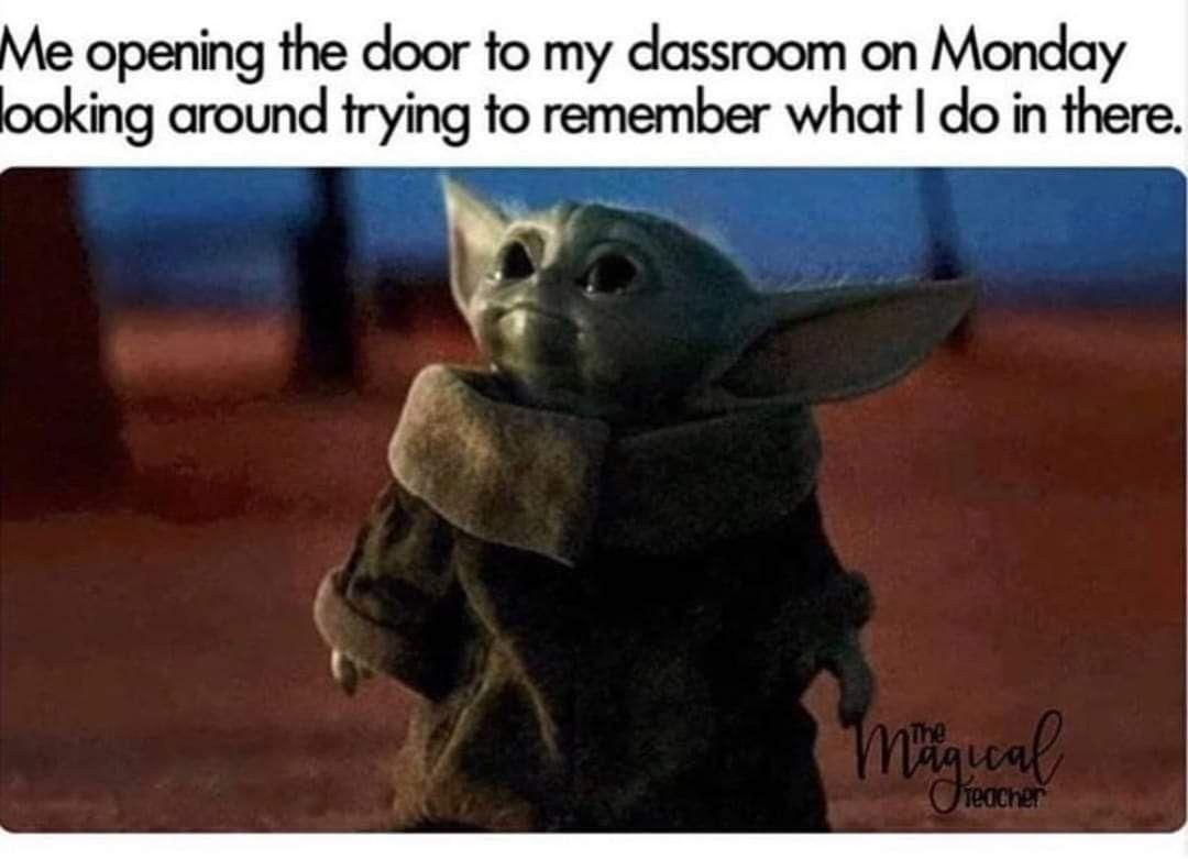 Pin By Vasthika Parboo On Teacher Humor Yoda Funny Yoda Meme Yoda