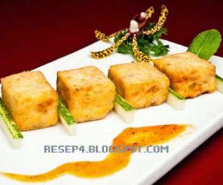 Agedashi Tofu Makanan Canape Hidangan Pembuka